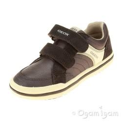 Geox Elvis Boys Brown Shoe