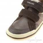 Geox Elvis Boys Brown Shoe