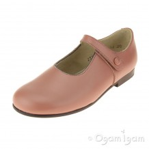 Start-rite Diana V Girls Dusky Rose Shoe