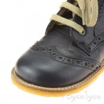 Angulus 2378 Boys-Girls Lace-up Navy Boot