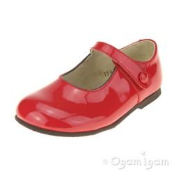 Start-rite Caty VII Girls Red Patent Shoe