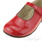 Start-rite Caty VII Girls Red Patent Shoe