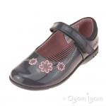 Clarks TrixiWhizz Pre Girls Anthracite Grey Shoe