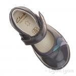 Clarks Softly Caz Fst Girls Anthracite Grey Shoe