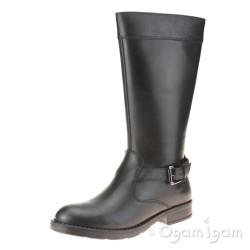 Geox Sofia Girls Black Boot