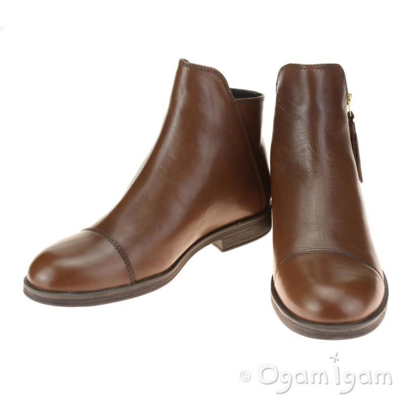 0cdc202c37fa9 Geox Agata Girls Tabacco Brown Boot Geox Agata Girls Tabacco Brown Boot ...