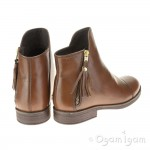 Geox Agata Girls Tabacco Brown Boot