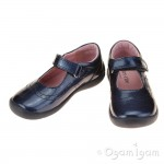 Start-rite Supersoft Alice Girls Navy Patent Shoe