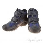 Geox Savage Boot Boys Navy-Grey Waterproof Boot
