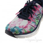 Skechers FashionFit SpringEssential Womens Navy-Multi Trainer