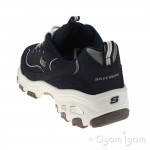 Skechers D'Lite Me Time Womens Navy-White Trainer
