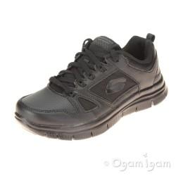 Skechers Master Flex Boys Black School Shoe