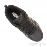 Skechers Master Flex Boys Black School Shoe