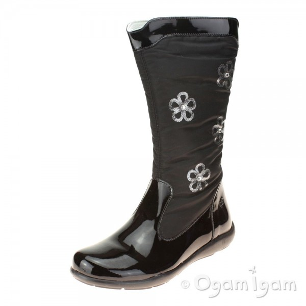 Primigi Flora Girls Black Boot