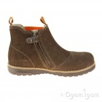 Primigi Lauren Boys Marrone Brown-Orange Boot