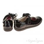 Lelli Kelly Lexis Girls Black Patent School  Shoe