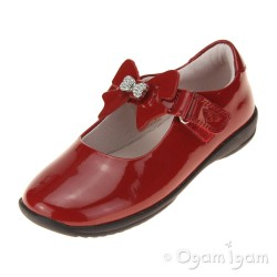 Lelli Kelly Charlotte Girls Red Patent Shoe