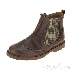 Start-rite Digby Boys Brown Boot