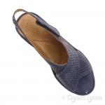Clarks Clarene Award Womens Navy Sandal