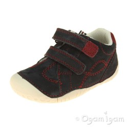 Start-rite Baby Turin Infant Boys Navy Shoe