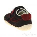 Start-rite Baby Turin Infant Boys Navy Shoe