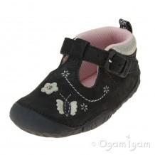 Start-rite Mayflower Infant Girls Navy Shoe