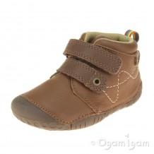 Start-rite Noah Infant Boys Tan Shoe
