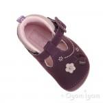 Start-rite Mayflower Infant Girls Purple Shoe