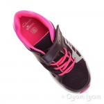 Clarks ReflectGlo Jnr Girls Purple Trainer