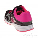 Clarks ReflectGlo Inf Girls Purple Trainer