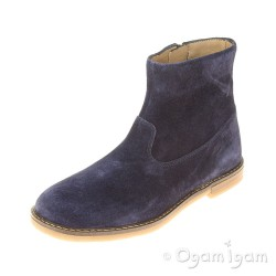 Pom D'Api Trip Boots Girls Encre Blue Boot