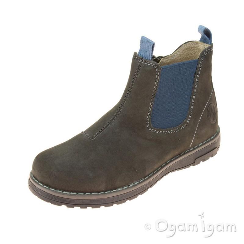 Red Leather Primigi Shoes