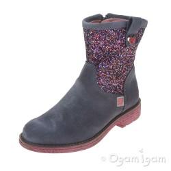 Agatha Ruiz de la Prada 161982 Girls Vaquero Sparkly Boot
