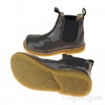 Angulus 2314 Stitched Chelsea Girls Dark grey Boot