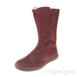 Primigi Britte-E Girls Bordo Red Boot