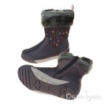 Clarks LilfolkRae Pre Girls Anthracite Boot