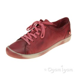 Softinos Isla Womens Scarlet Shoe