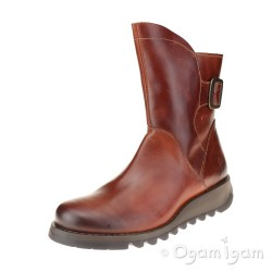 Fly London Sien Womens Brick Boot