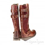Fly London Sher Womens Brick Boot
