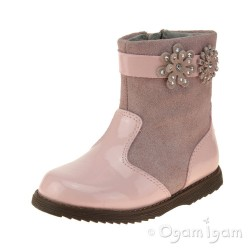 Lelli Kelly Linda Girls Rosa Patent Boot
