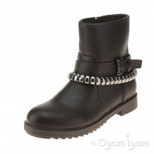 Lelli Kelly Nancy Girls Black Boot