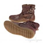 Shoo Pom Alias Basic Girls Prune-Platine Boot