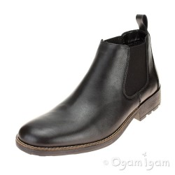 Rieker 3608200 Mens Schwarz Black Boot