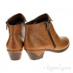 Rieker 7696124 Womens Muskat Brown Boot