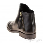 Geox Agata Girls Black Ankle Boot
