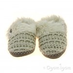 Bedroom Athletics Nicki Womens Natural Slipper