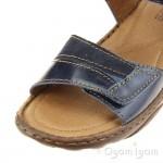 Josef Seibel Debra 19 Womens Denim Combi Sandal
