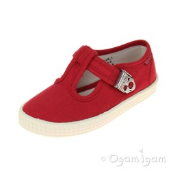 Start-rite Wells Boys Red Shoe