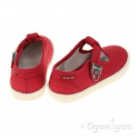 Start-rite Wells Boys Red Shoe