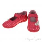Start-rite Supersoft Daisy Girls Bright Pink Shoe